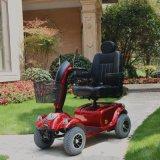 Nueva vespa de gran alcance de la movilidad de cuatro ruedas del diseño 24V 800W con 12184:2009 del En del Ce