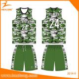 Basket-ball chaud Jersey de sublimation de vente de Healong