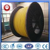 Cable de goma eléctrico de la explotación minera