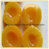 Nenhum açúcar amarelo enlatado de alta qualidade adicionado do pêssego