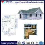 Chambre préfabriquée en acier légère vivante confortable de villa