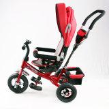 Bicicleta plegable del triciclo de niño del bebé de la rueda de los cabritos 3 del nuevo producto