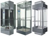 levage guidé de passager de l'ascenseur 1.75m/S avec la petite pièce de machine
