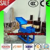 épurateur de pétrole portatif de filtre de papier de presse de plaque, machine de filtre à huile