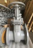 Valvola a saracinesca d'acciaio aumentante di modello chiara di Carnbon del gambo del GOST