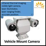 A montagem do veículo deteta o rádio térmico infravermelho de Onvif da sustentação da câmera da fiscalização do varredor de 10km