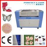 Pano do preço do competidor/sapatas/gravura do couro/laser da tela & máquina de estaca