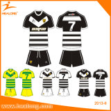 Healong Entwerfer-Farben-Sublimation-Rugby Jersey
