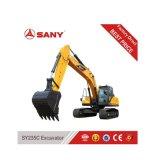 Sany Sy235 preço médio da máquina escavadora de 25 toneladas da máquina escavadora hidráulica