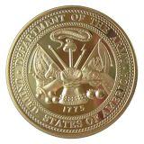 Les pièces de monnaie d'enjeu, pièces de monnaie de souvenir en métal, conçoivent en fonction du client