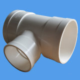 90 degrés de coude de PVC d'ajustage de précision de pipe pour l'évacuation avec la porte d'inspection