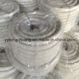 Fiber di ceramica Round Braided Sealing Rope con Glass Filament+S.S. Wire Reinforcement