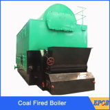 Le combustible solide 10bar, 16bar la basse pression, 1ton à 20ton ébrèche la chaudière allumée par bois