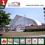Barraca curvada PVC do hangar da estrutura da barraca do famoso TFS do alumínio