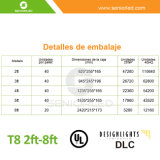 Tubo LED 8FT De Un conector