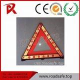Signes de circulation routière rouges de triangle de triangle d'avertissement Emergency de route de Roadsafe