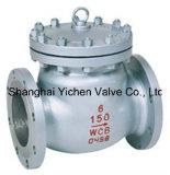Valvola di ritenuta inossidabile della Cina dell'acciaio di getto dell'oscillazione (H44H)
