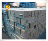 Refratário do tijolo de silicone para o forno de casco