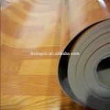 Tapis de plancher de PVC de support de feutre de linoléum en bois ou de marbre