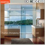 Marco de acero inoxidable ajustable y vidrio Tempered del marco 6-12 del aluminio que desliza el sitio de ducha simple, recinto de la ducha, cabina de la ducha, cuarto de baño, pantalla de ducha