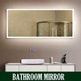 Miroir de lavabo avec le miroir d'acier inoxydable de miroir de bassin en verre Tempered d'épaisseur du miroir 4mm d'acier inoxydable de Module