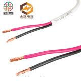 Fio elétrico isolado PVC do condutor de cobre desencapado do cabo