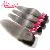 Produits Straight Hair Style Malaisiens 2tone Color Ombre Hair
