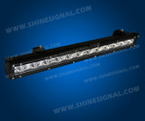 Road Vehicleを離れたTheの60W Single Row LED Light Bar Used