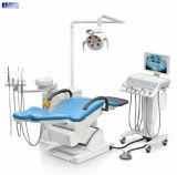 Unidad dental de cuero de lujo de la silla con el motor importado Taiwán
