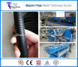 Cadena de producción del tubo del conducto del PA del PVC del plástico del PE flexible de los PP/máquina acanaladas del estirador