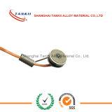 Soldeerbout met een thermokoppelsensor voor pijpleiding/het dragende temperatuur meten wordt gebruikt die