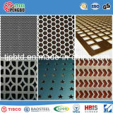 Quadratische/runde Loch-perforiertes Metall Mesh/Stainless Steel/Galv.