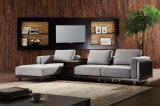 Sofá Home moderno novo da tela da sala de visitas da mobília ajustado (HC8117)