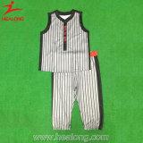 Uniforme du base-ball de vêtements de sport des hommes populaires de sublimation