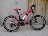 Bicicleta llena de acero de la bici de montaña de la bicicleta de la suspensión MTB (OKM-882)