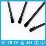 Belüftung-überzogener Edelstahl-Kabelbinder