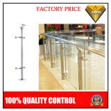 Inferriata dell'acciaio inossidabile con il vetro per il progetto dell'interno o esterno (JBD-R)