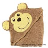 Toalla de baño promocional del algodón del bebé de las ventas al por mayor Towe encapuchado con alta calidad