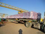 레일을 설치하는 두 배 대들보 미사일구조물 기중기 100 톤