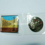 Подгонянные высоким качеством монетки возможности металла