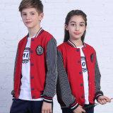 Верхний Tracksuit мальчиков и девушок способа/износ спортов, самые последние формы начальной школы конструкции