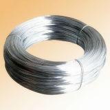 電流を通された鋼線