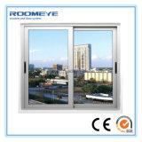 Roomeye neuestes horizontales schiebendes Glasplastikfenster des Entwurfs-UPVC/PVC