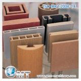 Linha plástica de madeira da extrusão do perfil de PVC/PE/PP/ABS/PS