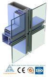 Profil en aluminium appliqué de bonne qualité de mur rideau