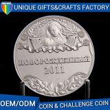 monete della medaglia del metallo dell'oggetto d'antiquariato del ricordo 3D