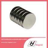 Magnete permanente del disco del neodimio diplomato ISO/Ts16949 con forte potere