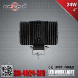 4 Selbstarbeits-Licht des Zoll-24W LED mit Cer RoHS ECE Bescheinigungen