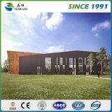 Aufbau Vor-Ausgeführte Stahlkonstruktion-Werkstatt mit Geländer-Wand (SW005)