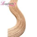 普及した様式の加工されていないRemyのブロンドのインドのバージンの毛